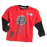 New Balance Boys Hangdown Crew Shirt