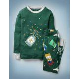 Boden Harry Potter Long John Pajamas - Emerald Night Sweets