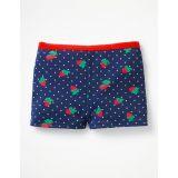 Boden Swim Shorts - Deep Sea Blue Strawberry Spot