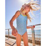 Boden Flutter Back Swimsuit - Lake Blue Berries