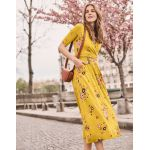 Boden Carrie Jersey Midi Dress - Saffron, Daydream