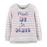 Carters Paris Pullover