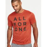 Oldnavy Go-Dry Graphic Performance Tee for Men