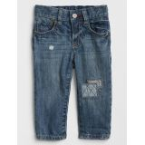 Gap Patch Straight Jeans