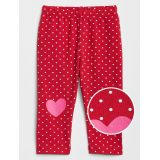 Gap Print Heart Leggings