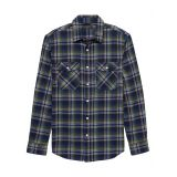 bananarepublic Standard-Fit Heavyweight Flannel Shirt