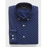 bananarepublic Standard-Fit Non-Iron Print Shirt