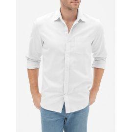 Gap Standard Fit Shirt in Linen-Cotton