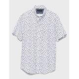 bananarepublic Slim-Fit Soft Wash Print Shirt