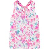 Oshkoshbgosh Tropical Floral Pocket Tank