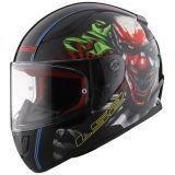 LS2 Helmets LS2 Rapid Happy Dream Glow In The Dark Helmet