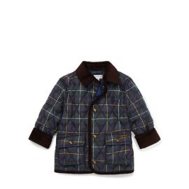 Polo Ralph Lauren Plaid Quilted Car Coat