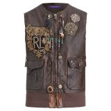 Polo Ralph Lauren Hamlin Leather Vest