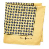 Polo Ralph Lauren Silk Foulard Pocket Square