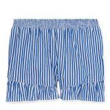 Polo Ralph Lauren Striped Ruffled Cotton Short