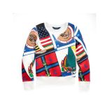 Polo Ralph Lauren Sailing-Print Fleece Pullover