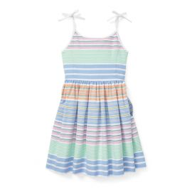 Polo Ralph Lauren Striped Cotton Oxford Dress