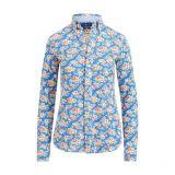 Polo Ralph Lauren Print Knit Cotton Oxford Shirt