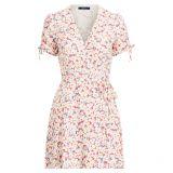 Polo Ralph Lauren Floral Crepe Wrap Dress
