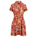 Polo Ralph Lauren Tropical Fit-and-Flare Dress