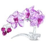 Swarovski Crystal Flowers Orchid