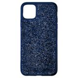 Swarovski Glam Rock Smartphone Case with Bumper, iPhone 11 Pro, Blue