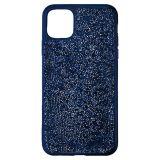 Swarovski Glam Rock Smartphone Case with Bumper, iPhone 11 Pro Max, Blue