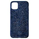 Swarovski Glam Rock Smartphone Case with Bumper, iPhone 12 mini, Blue