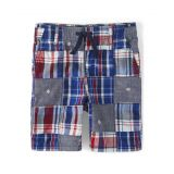 Boys Madras Shorts - Opening Day