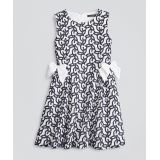 Girls Cotton Voile Embroidered Dress