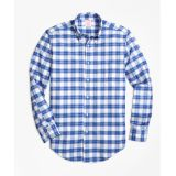 Oxford Plaid Sport Shirt