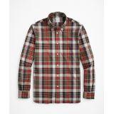 Brooksbrothers Regent Regular-Fit Sport Shirt, Red Madras