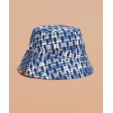 Printed Reversible Madras Bucket Hat