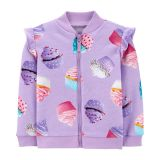 Cupcake Zip-Up Fleece Jacket