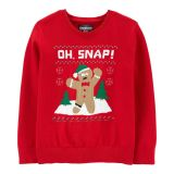 Gingerbread Man Holiday Sweater