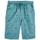 Carters Pull-on Stretch Canvas Shorts