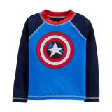 Carters Captain America Rashguard