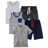 Carters 5-Pack Outfit Bundle