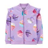 Cupcake Zip-Up Fleece Jacket