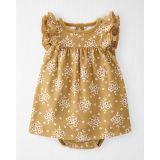 Oshkoshbgosh Organic Cotton Rib Bodysuit Dress