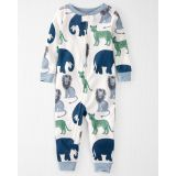 Oshkoshbgosh Organic Cotton 1-Piece PJs