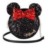 Minnie Mouse Icon Sequin Crossbody Bag   shopDisney
