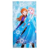 Anna and Elsa Beach Towel  Frozen 2