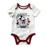 Mickey Mouse Americana Bodysuit for Baby