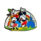 Mickey Mouse and Friends Pin ? Rainbow Disney Collection