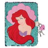 Ariel Reversible Sequin Diary | shopDisney