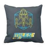 Miles from Tomorrowland Stellosphere Throw Pillow  Customizable