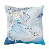 Cinderella Pillow  Live Action Film  Customizable