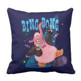 Bing Bong Throw Pillow  PIXAR Inside Out  Customizable