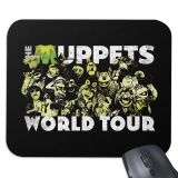 The Muppets World Tour Mouse Pad  Customizable